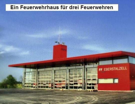Ein für drei ff_eberstalzell Feuerwehrhaus